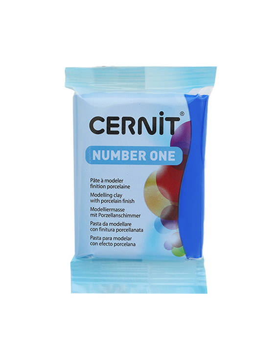 Cernit Number One Blue, синий, 200