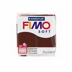 Fimo Soft Chocolate, шоколад (№75)