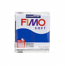 Fimo Soft Pacific Blue, синий (№37)