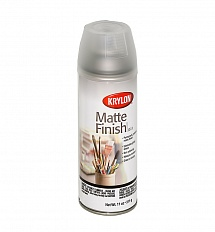 Лак-аэрозоль KRYLON Matte Finish, матовый, 325мл