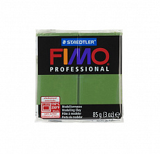 Fimo Professional Leaf green, зелёный лист