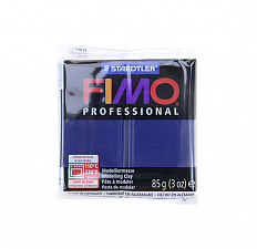 Fimo Professional Navy blue, тёмный синий