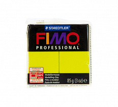 Fimo Professional Lemon yellow, лимонный жёлтый
