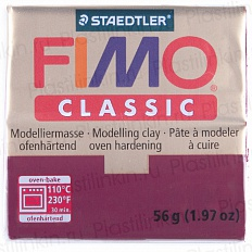 Fimo Classic, бордовый
